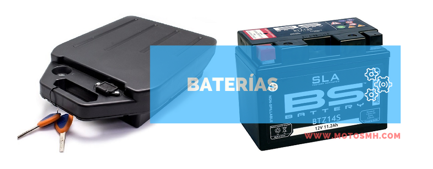 Baterias | Venta baterias de motos | Comprar batrias quads | motosmh