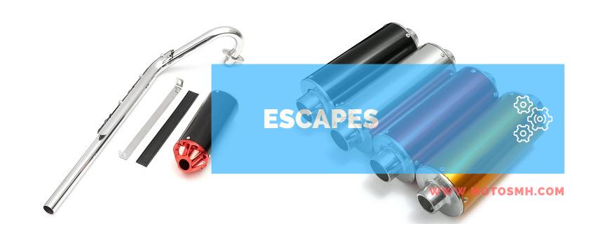 Venta escapes minimotos minicross | comprar escapes Pit bike | MOTOSMH