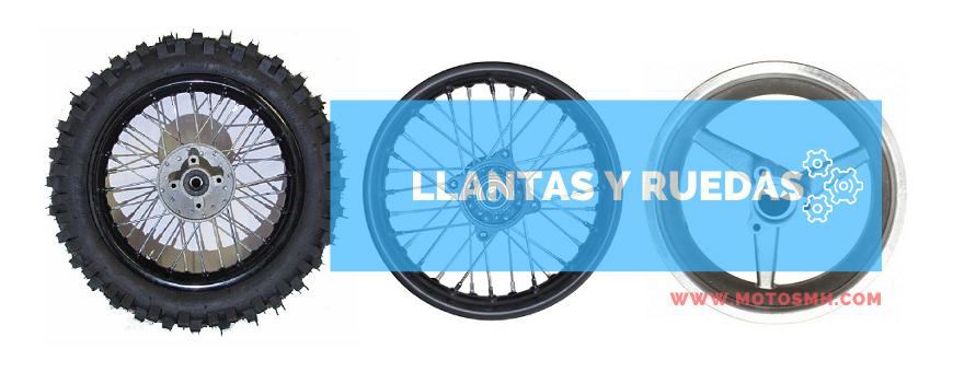 Llantas y ruedas pit bike | Venta llantas pitBike | minimotos | quads