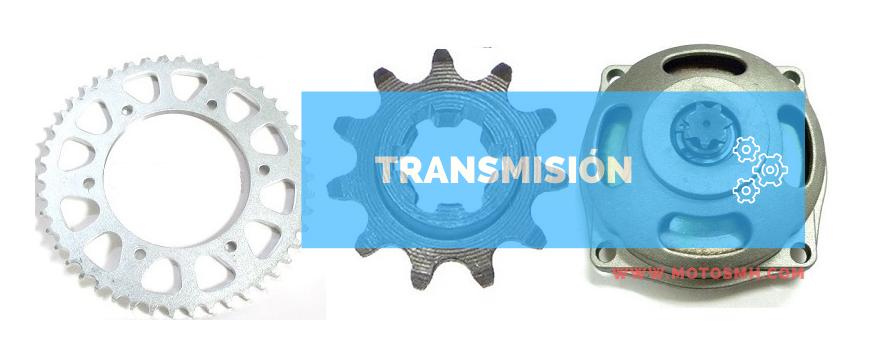 Transmisión pit bike - Minimotos | Comprar transmisión quad | motosMH