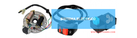 Sistema eléctrico   Venta de sistema eléctrico motos pit bike Minimoto